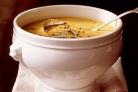 Суп с чечевицей, шалфеем и беконом