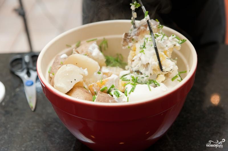 Картофельное пюре со сметаной - фото шаг 5