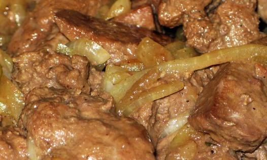 Бефстроганов в сметанном соусе - фото шаг 4