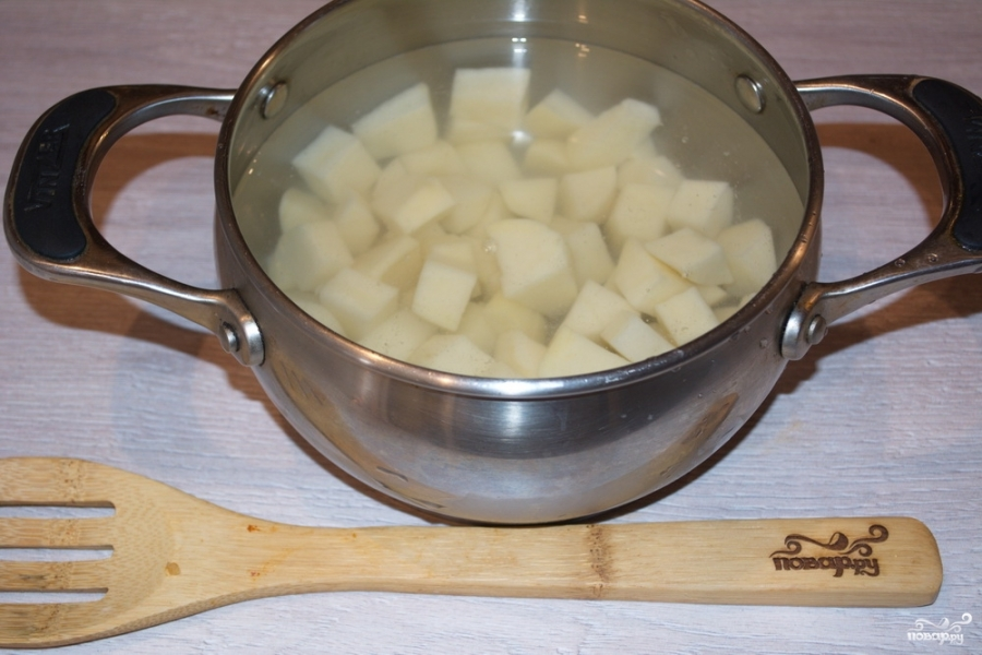 Томатный суп с сельдереем - фото шаг 2