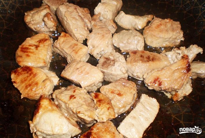 Азу из свинины с подливкой - фото шаг 4