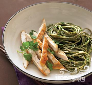 Рецепт Курица с японской лапшой