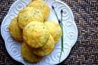 Кукурузные маффины с сыром Чеддер