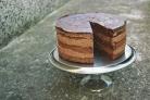 Торт Прага с заварным кремом