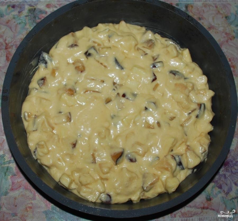 Пирог с вишней рецепт на быструю руку