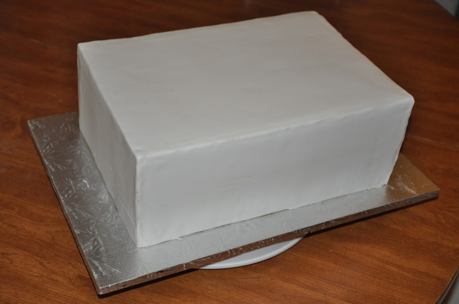 """Торт """"Лего"""" - фото шаг 2"""