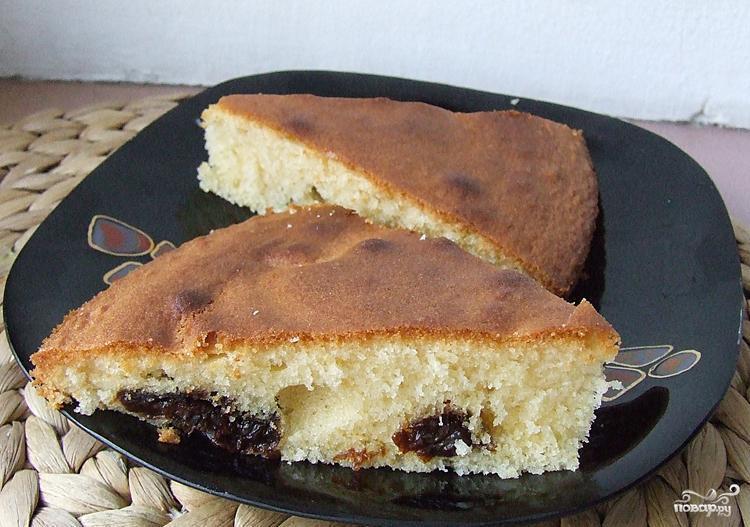 Кекс с черносливом