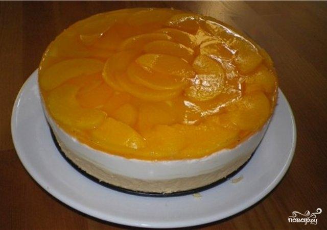 Рецепт Торт с желатином и сметаной