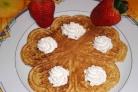 Печенье Сердечки в вафельнице