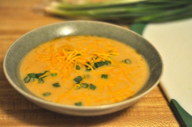Пивной суп с сыром - фото шаг 6