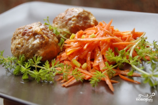 Тефтели с луком и морковью