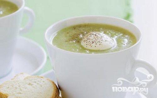Рецепт Суп-пюре из фенхеля и брокколи