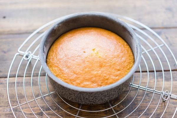 рецепты бисквитные пирожные видео