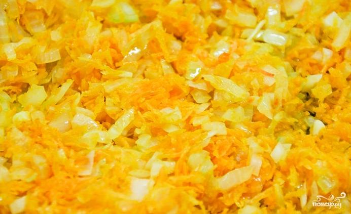 Печеночные оладьи с морковью - фото шаг 1