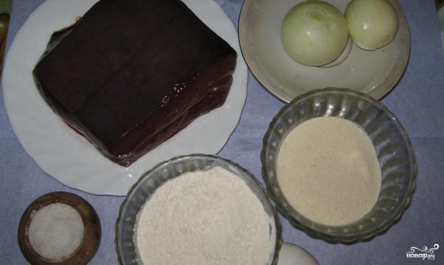 Рецепт Печеночные котлеты с манкой