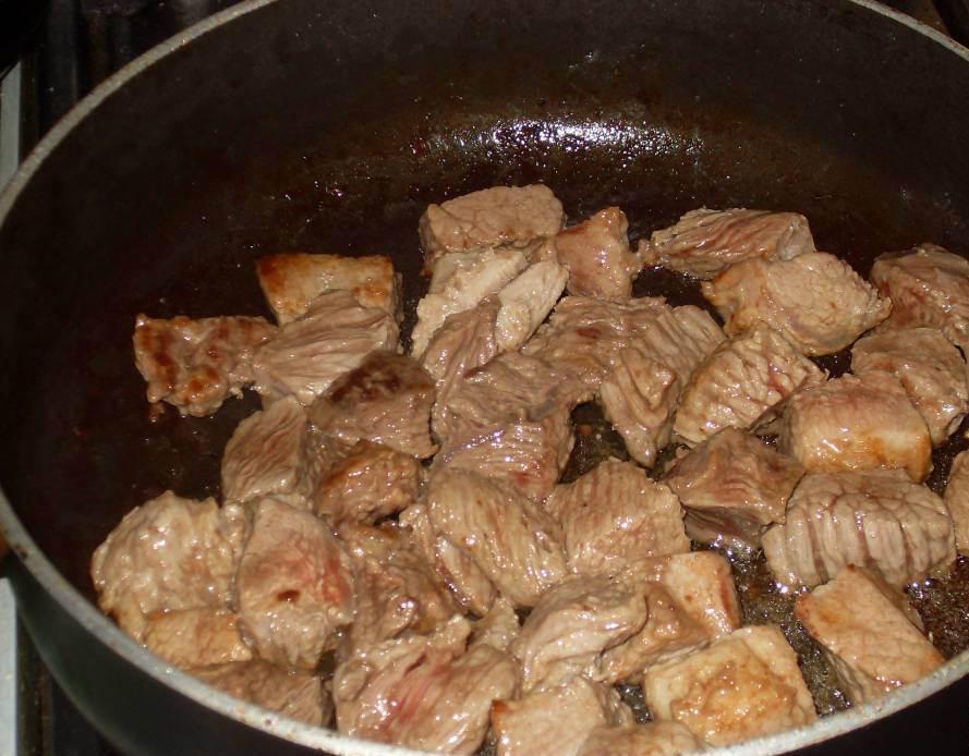 Суп с овощами и мясом - фото шаг 2