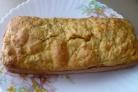 Яблочный кекс на кефире