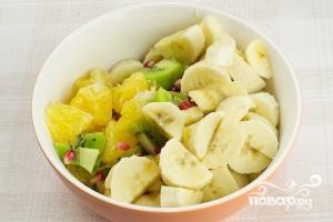 Фруктовый салат с киви - фото шаг 3