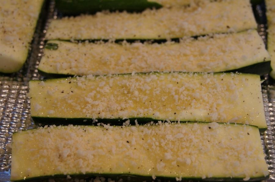 Рецепт Кабачки, запеченные в духовке с сыром