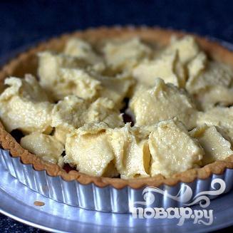 Миндальный пирог с малиной - фото шаг 3