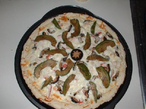 Пицца в Японском стиле - фото шаг 9