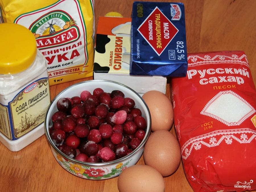 Рецепт Кекс с клюквой