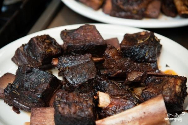 Прессованное мясо из рульки - кулинарный рецепт