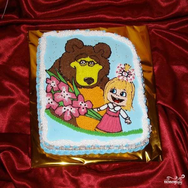 Торт медведь своими руками
