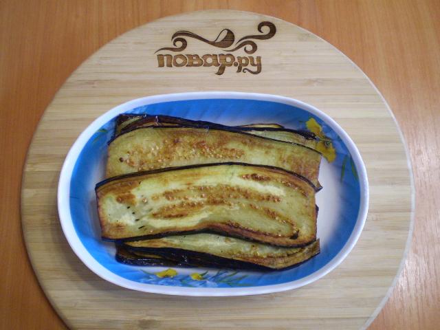 Жареные баклажаны с начинкой - фото шаг 6