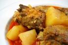 Картошка со свиными ребрышками