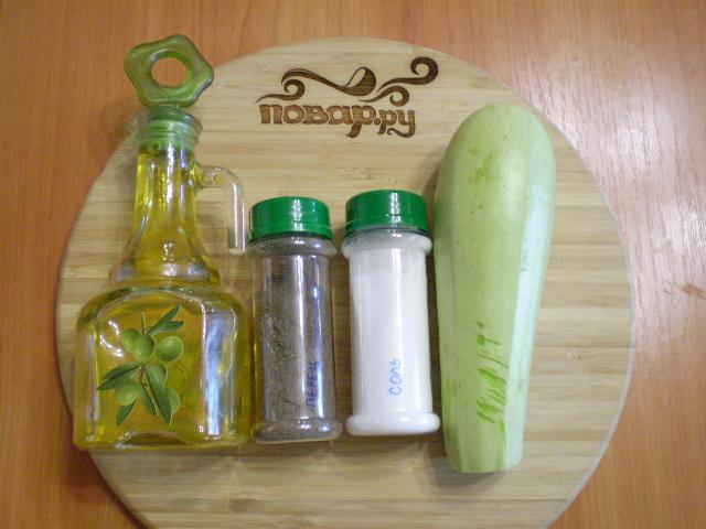 Рецепт Жареные кабачки без муки
