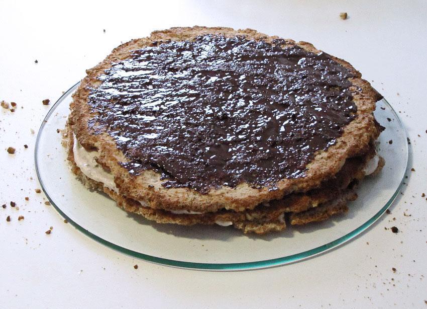 Итальянский ореховый торт - фото шаг 3