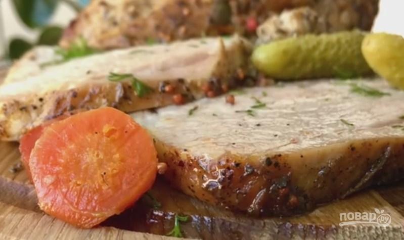 рецепт мясо в духовке буженина #7