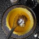 Рецепт Тыквенный пудинг со сметанным кремом