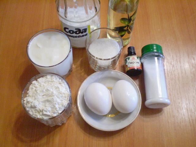 Рецепт Оладьи на кислом кефире
