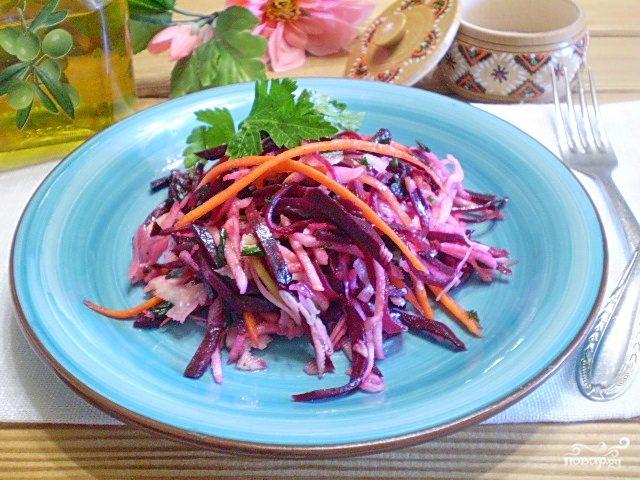 салат из свеклы для похудения рецепт с фото
