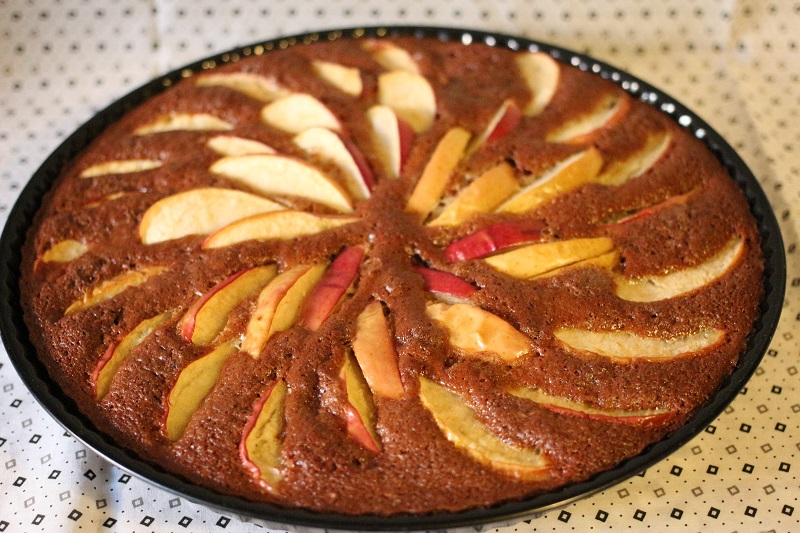 "Яблочный пирог ""Калейдоскоп"" - фото шаг 7"