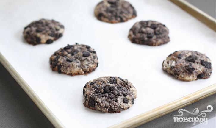 Шоколадно-сливочное печенье - фото шаг 4