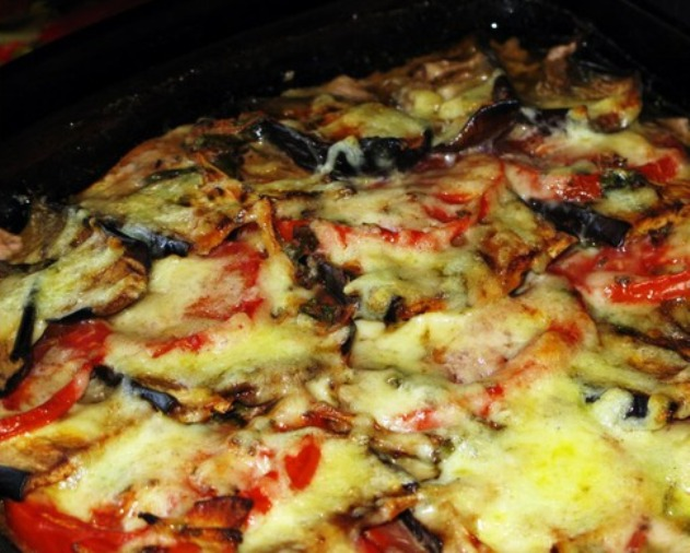 Мясо по-французски с баклажанами - фото шаг 7