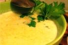 Сырный суп без мяса