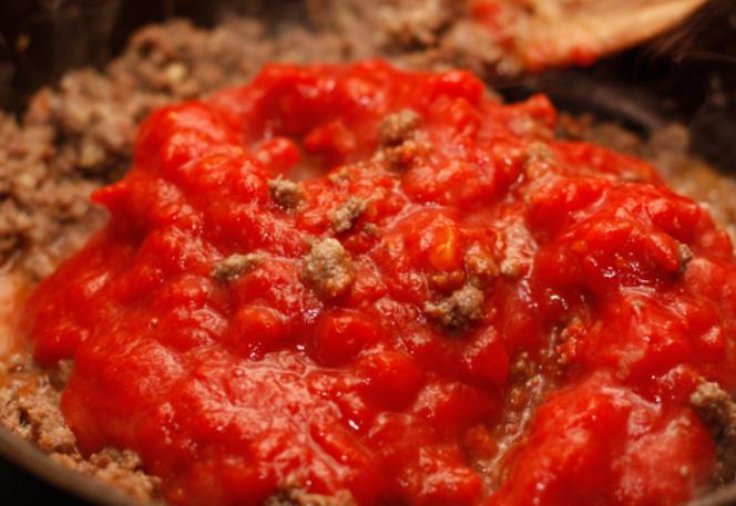 Каннеллони, фаршированные мясом - фото шаг 5