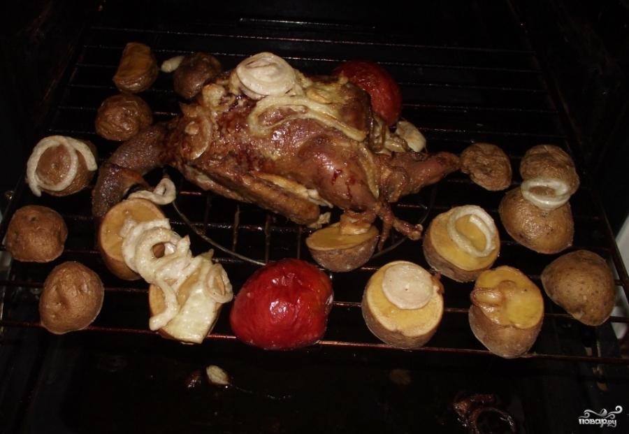 дикая утка в духовке в рукаве рецепт с фото