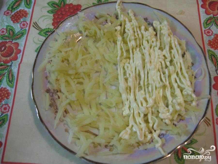 Салат из курицы с ананасом и огурцом - фото шаг 2