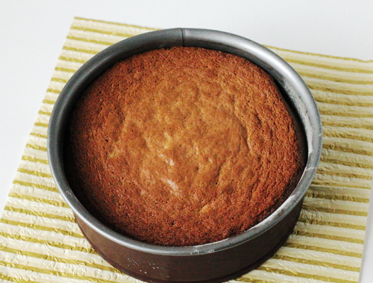 Шоколадный торт с фисташками - фото шаг 7