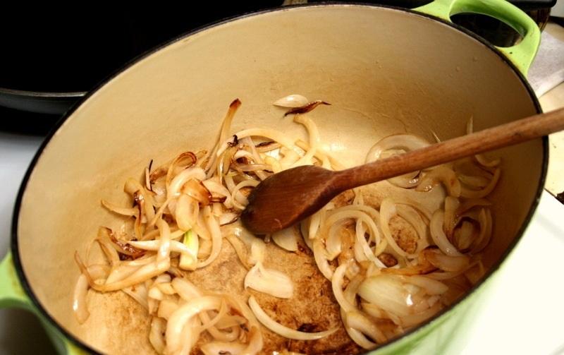 Рецепт Свинина с помидорами и баклажанами