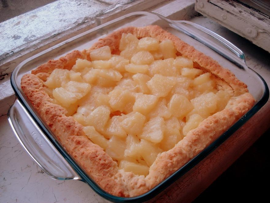 Пирог с заварным кокосовым кремом - фото шаг 5