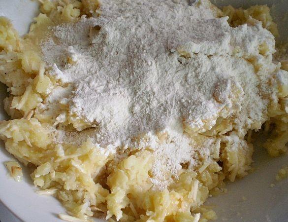 Галушки картофельные - фото шаг 4