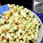 Рецепт Яблочный пирог с йогуртом и самбукой