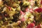 Индейка с брокколи в духовке
