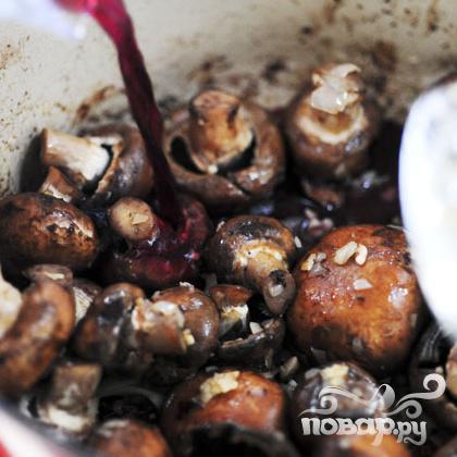 Говядина с грибами - фото шаг 12